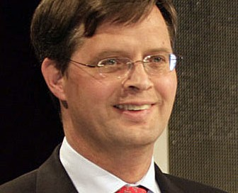 Jan Pieter Balkenende of the Netherlands was a key speaker at the event. File photo