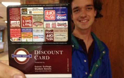 Student senate to release student discount cards Monday