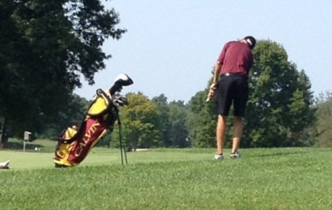 Men's golf takes sole lead of MIAA