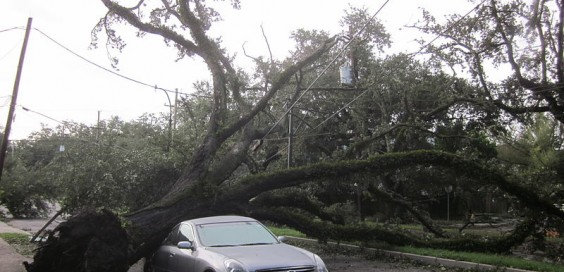 Hurricane Isaac left damage across the Gulf Coast. File photo