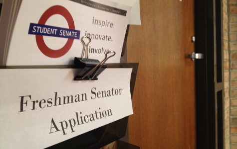 Student senate to choose three freshmen senators