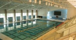 The Venema Aquatic Center features an Olympic-sized swimming pool. Photo courtesy calvin.edu