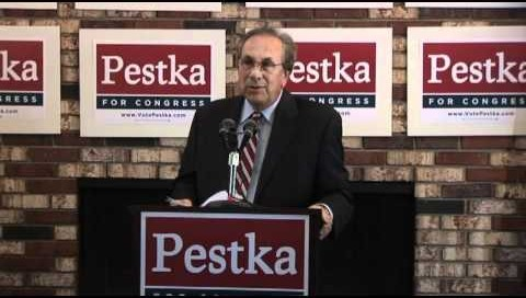 Pestka announces his candidacy.