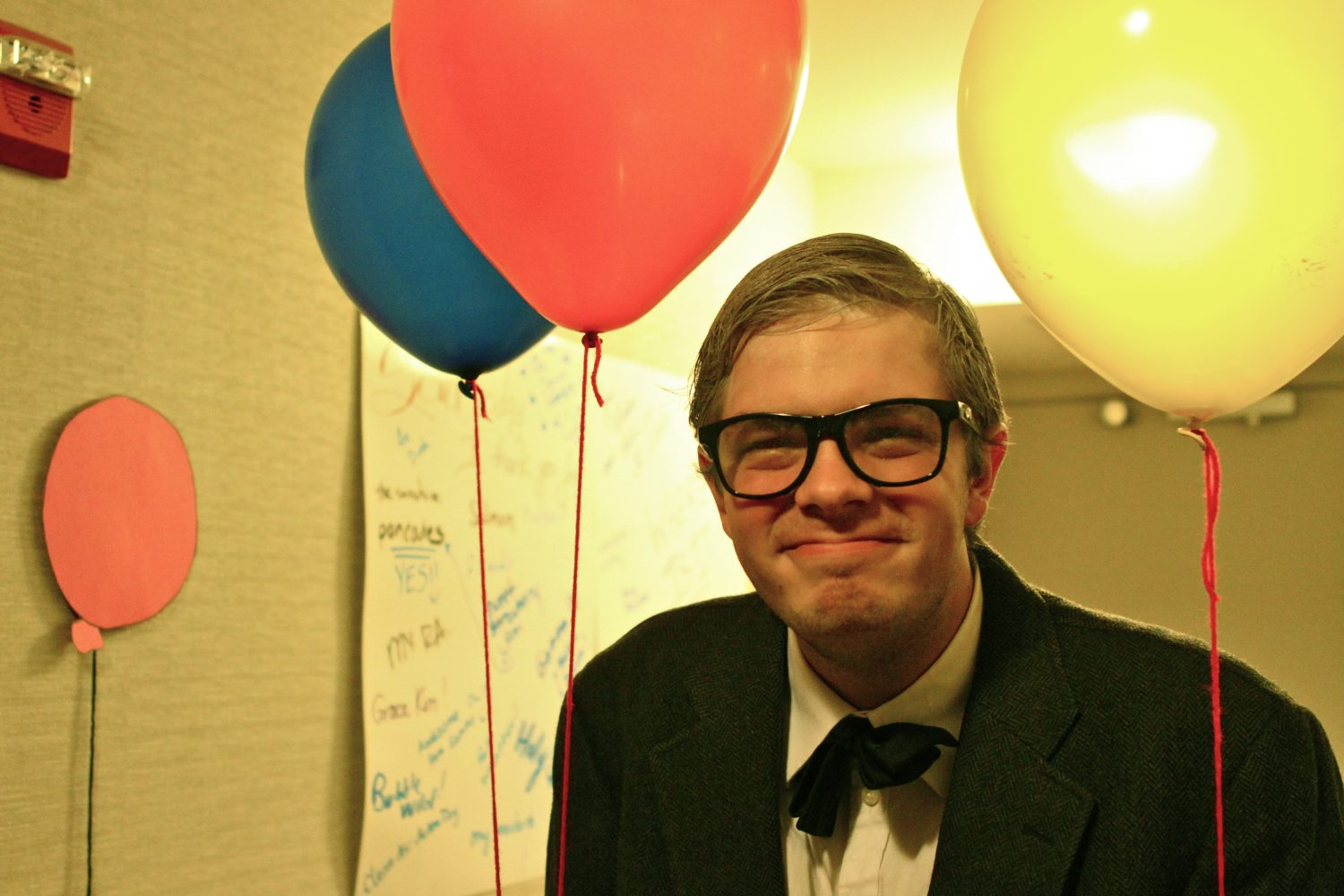 Junior Chess Van Wyk dressed up as a character from Up for Light in the Night. Photo by Ryan Hagerman