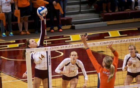 Volleyball prevails against Alma