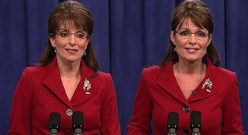 Will the real Sarah Palin please stand up?  File photo