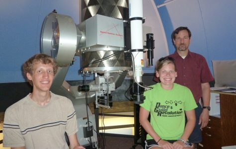 Junior Hannah Pagel studies asteroid collisions