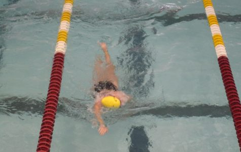 Swim teams win first MIAA matchup