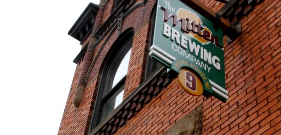 The Mitten Brewing Co. is located on the north side of Grand Rapids, on Leonard near Alpine.  File by Ryan Hagerman