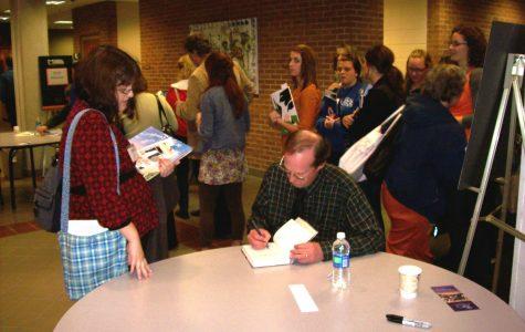 Students attend children's literature conference