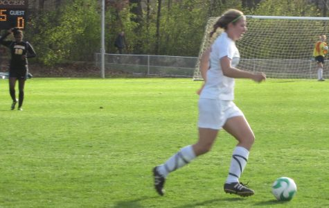 Women's soccer storms ahead to MIAA championship victory