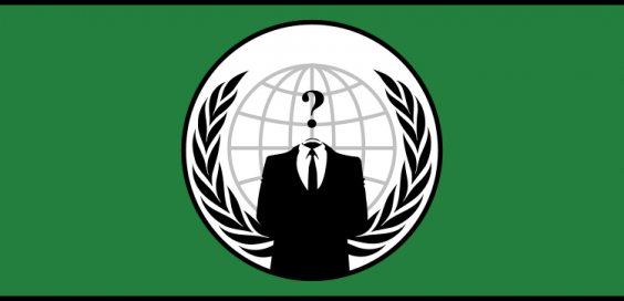 The Anonymous flag.