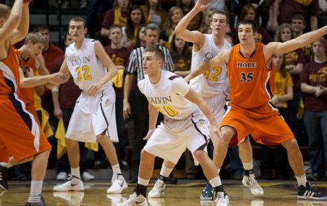 Men's basketball to battle with Hope in 'The Rivalry' Saturday