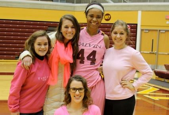 Teams play to support breast cancer awareness