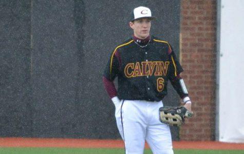 Sophomore sets Calvin stolen base record, baseball wins five of six