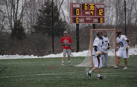 Men's lacrosse wins first game as a varsity sport