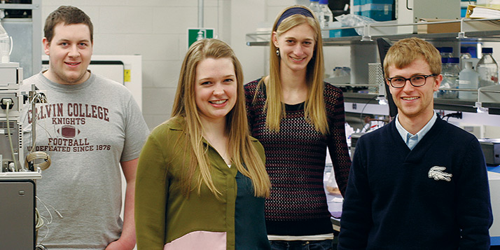 Goldwater scholars highlight Calvin's commitment to research
