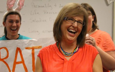 Psychology's Julie Yonker named professor of the year by class of 2013