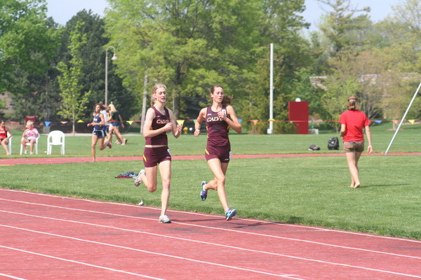 Track team competes with D-1 schools at Spartan Invitational