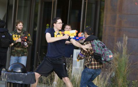Humans vs. Zombies invades Calvin's campus