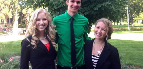 Photo courtesy student senate.