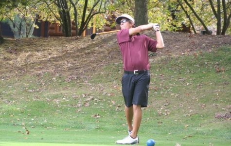 Men's golf places fifth at conference tourney