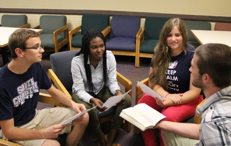 Students strengthen prayer lives at weekly sessions
