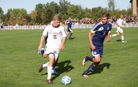 Men's soccer upsets No. 8 Hope for first win of season