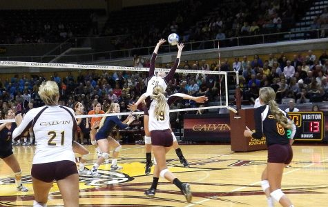 Calvin volleyball continues success against top teams
