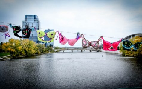 Bras Across the Grand promotes breast cancer awareness