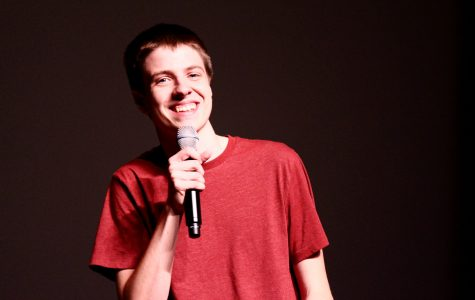 Calvin sophomore takes the stage at comedy showcase