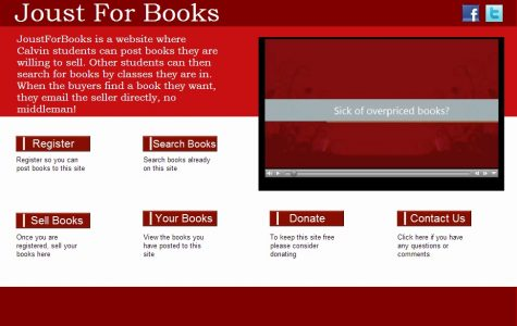 New website created for Calvin students to buy and sell textbooks