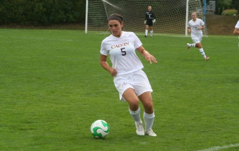 Women's soccer defends spot atop conference