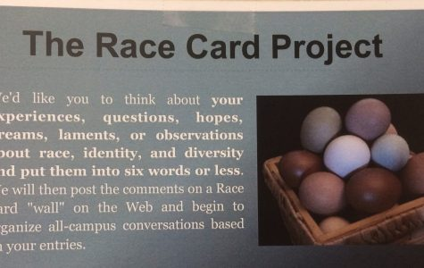 Race Card Project gathers student opinions on race in six words