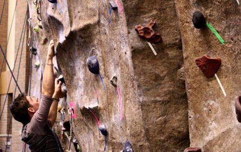 Climbing competition draws over 45 students in its fifth year