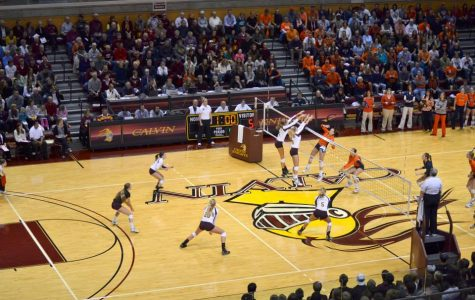 Calvin volleyball to play in final rounds of national tourney this weekend