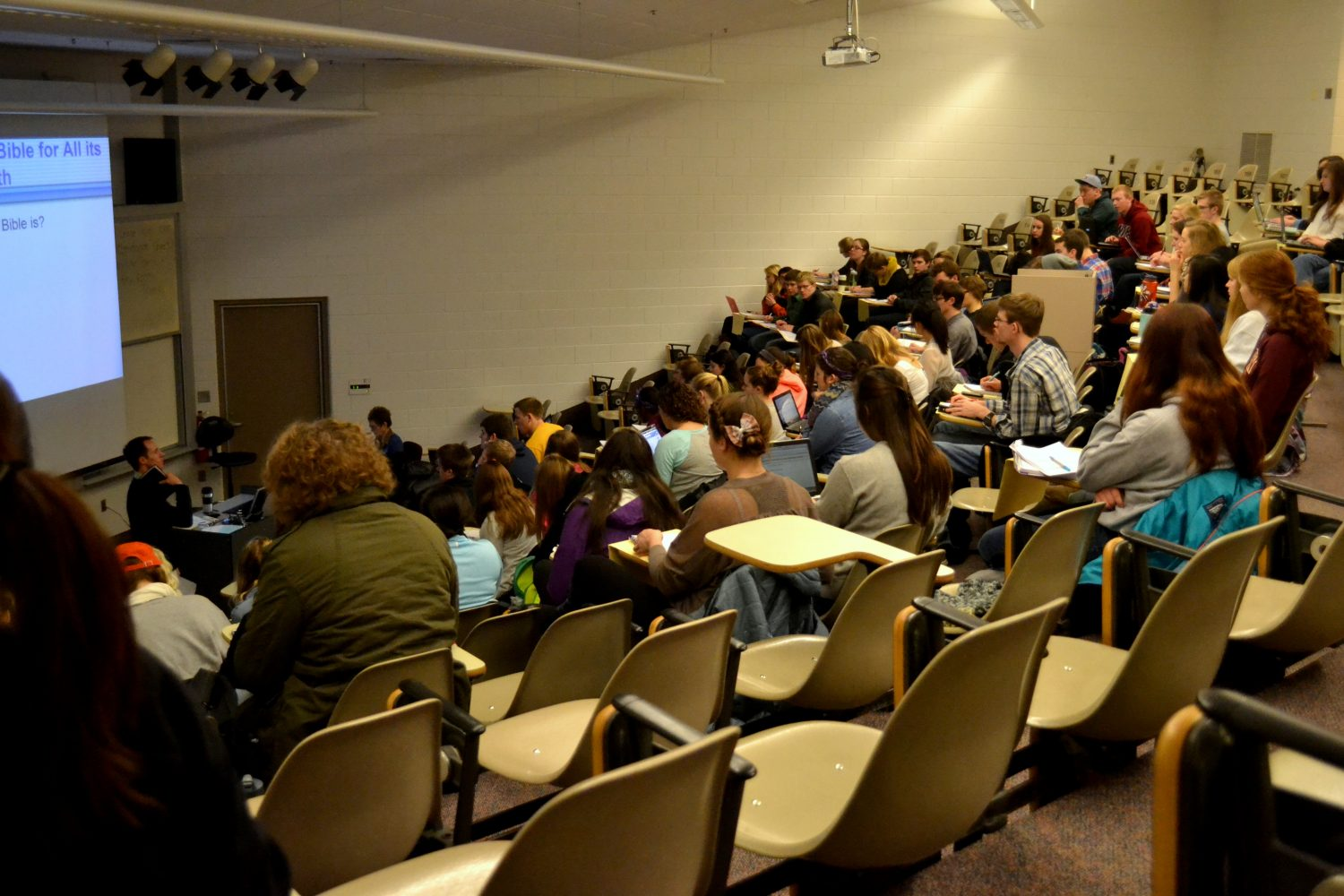 Calvin business class explores possibility of new master's programs