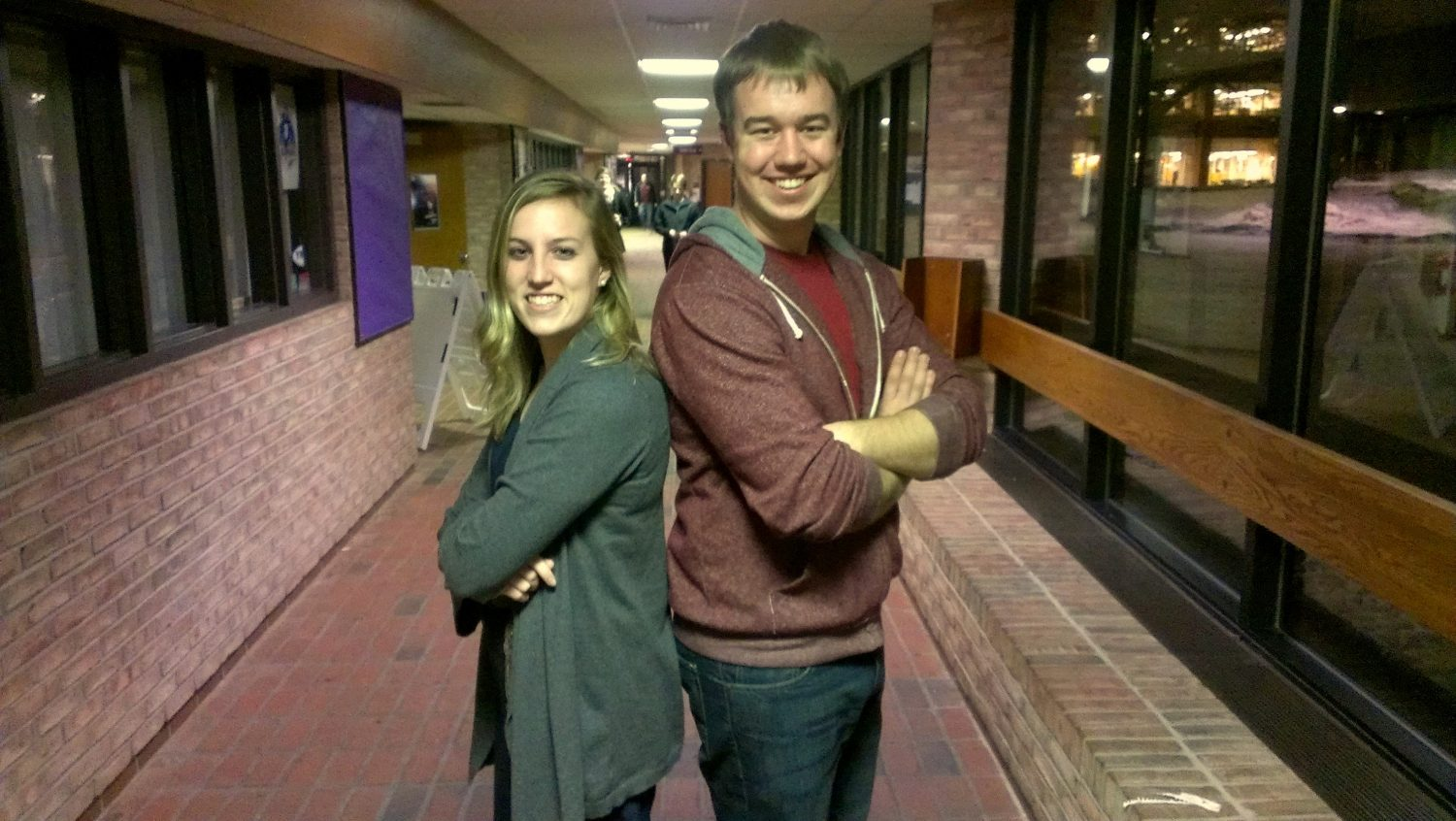 Saying goodbye: Editor-in-Chief Ryan Struyk and Managing Editor Jess Koster have their final words