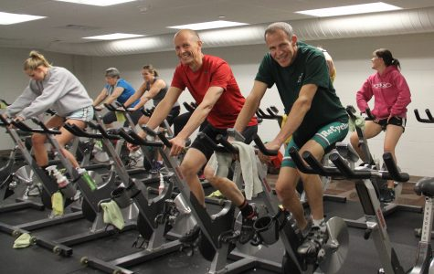 12-hour spin-a-thon to support Calvin biology professor