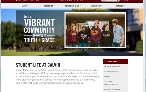 Calvin website redesign targets mobile devices, prospective students