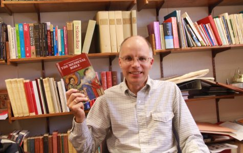 Professor presents new book on Medieval Bible
