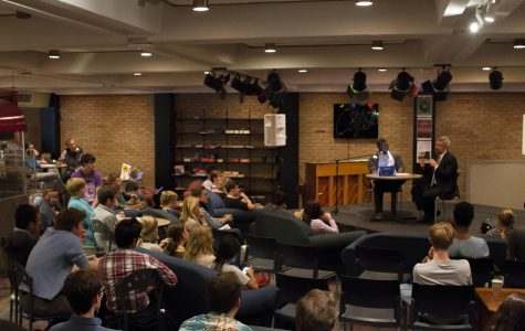 Le Roy addresses student concerns at town hall