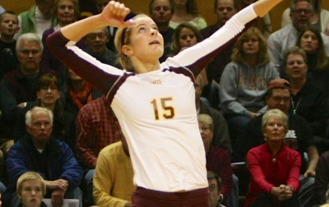 Women's Volleyball Continues to Roll