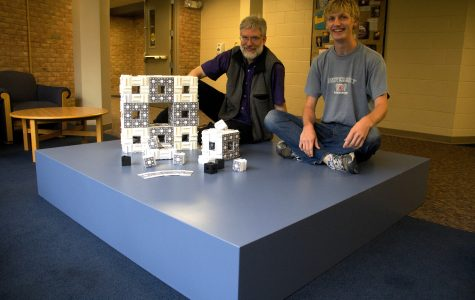 Calvin participates in worldwide fractal construction project