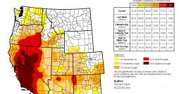 Image by Richard Heim, NDMC/NOAA. The U.S. Drought Monitor is jointly produced by the National Drought Mitigation Center at the University of Nebraska-Lincoln, the United States Department of Agriculture, and the National Oceanic and Atmospheric Administration. Map courtesy of NDMC-UNL.
