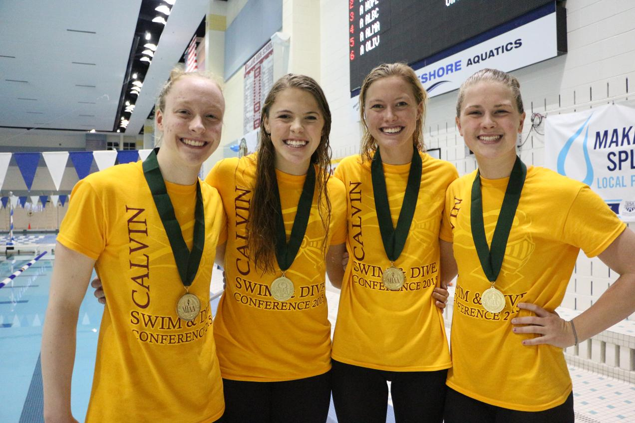 Mens+and+Women%E2%80%99s+Swimming+and+Diving+are+MIAA+Champions