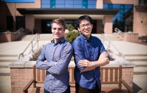 DeVries and Darmawan win student senate executive team race