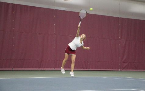 Tennis teams begin conference play