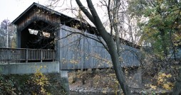 Ada covered bridge. Photo courtesy wikimedia commons