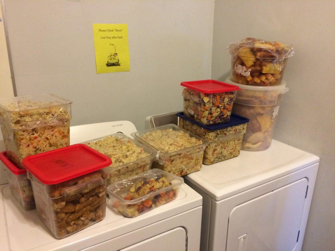 Food Recovery Network saves 217 lbs of food. Photo Credit Joey Budi